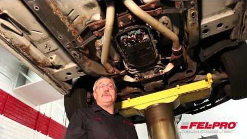Transmission Pan Gasket Installation (2003 Cadillac CTS)