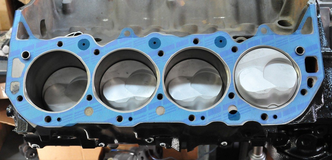 head gasket coolant holes